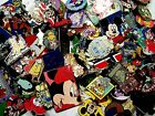 DISNEY PINS 125 PIN mixed lot FASTEST SHIPPER IN USA FREE shipping 100 tradable