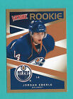 2010-11 Upper Deck Victory Gold Parallel card #349 Jordan Eberle (Rookie)