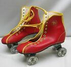 OFFICIAL ROLLER DERBY OUTDOOR STEEL WHEEL SKATES Childs SIZE 3 Red