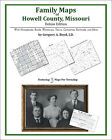 Family Maps Howell County, Missouri Genealogy MO Plat