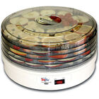 5-Tray Electric Counter-Top Food Dehydrator, Compact 5-Tier Beef Jerky Machine