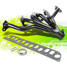 FOR 91 99 WRANGLER CHEROKEE YJ TJ XJ BLACK SSTEEL 6 1 MANIFOLD HEADER EXHAUST