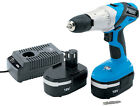 DRAPER 20497 18 VOLT CORDLESS HAMMER DRILL WITH 2 BATTERIES