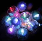 Multi Color Changing LED very bright tealights 10 Candles Battery operated
