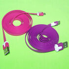 Flat Micro USB Data Sync Cable for Samsung Galaxy S II 4G Epic 4G Touch SPH D710