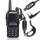 Baofeng UV-82L 136-174/4​​00-520 MHz Ham Two-way Radio Walkie Talkie + Cable