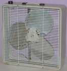 McGRAW-EDISON MANNING BOWMAN BREEZE BOX FAN 2-SPEED ALUMINUM BLADE VINTAGE 1969