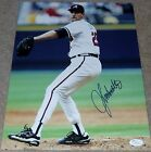 JOHN SMOLTZ Signed Auto Atlanta Braves 11x14 Photo JSA COA