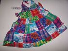 NWT TCP CHILDRENS PLACE PATCHWORK SUNDRESS  DIAPER COVER 0 3 MO Free Ship