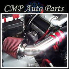 RED 2001 2004 CHEVROLET GEO TRACKER 25 25L LT ZR2 AIR INTAKE KIT SYSTEMS