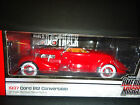 Auto World Cord 812 Convertible 1937 Red 1 18