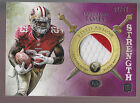 2012 Topps Valor Disciplined Field Armor 2 Color Patch LaMichael James RC 22 50