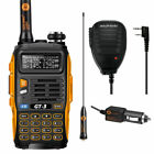 Baofeng GT-3 MKII 136-174/4​​00-520 MHz Ham Two-way Radio Transceiver + Speaker