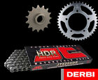 Derbi 50 Senda SM DRD Evo 09-10 Heavy Duty HDR Chain & Sprocket Set Kit