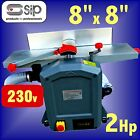 SIP 01552 Power Feed Planer Thicknesser 230v 1500w 2Hp 8 x 8 plane planing wood