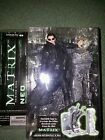 McFarlane Toys Neo Lobby Scene Matrix Action Figure and morpheus. Andtwin 1