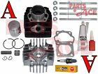 Suzuki Jr 50 JR50 Piston Rings Cylinder Gasket Top Kit Set 1985-2006 85-06