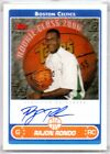 2006-07 Topps Photo Shoot Signature Rajon Rondo Autograph RSA-RR Full Auto