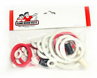 Gottlieb Big Hurt Pinball White Rubber Ring Kit