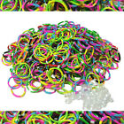 TROPICAL Colored TIE DYE Rubber Bands 600 pcs LOOM Rainbow Bracelet Refill Pk