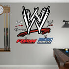 *WWE* LOGO LIFE SIZE Fathead Wall Decal with FREE DECALS- NEW