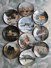 World's Most Magnificent Cats collector plates -- COMPLETE SET