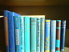 a Lot of 12 Vintage Books Instant Library An Ocean Of Blue Decorative