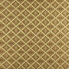 A0012H Gold Brown Ivory Diamond Brocade Upholstery Fabric By The Yard