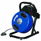 Compact Auger Electric Drain Snake Cleaner Power Feed 50ft GFCI 60 DAY WARRANTY
