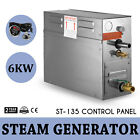 6KW Steam Generator Sauna Bath Steamer For Home SPA Shower W ST 135m Controller