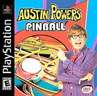 Austin Powers Pinball NEW factory sealed black label PlayStation PSX PS1
