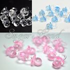 48 Mini Pacifiers Baby Shower Favors Pink Clear Party Decorations Girl Boy Decor