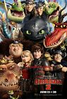 New HOW TO TRAIN YOUR DRAGON 2 silk wall poster 24x36