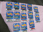 Hot Wheels Mixed Lot of 13 Cars~ 1997-1998 New & Factory Sealed!