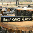 Home  Sweet  Home Wooden Sign Shelf Sitter 21 Colors to Choose From