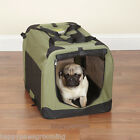 Guardian Gear Collapsible Soft Sided Portable Water Resistant Dog Crate CageXS