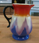Art Deco Air Brushed Czechoslovakia Czech Vase