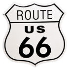 US Route 66 Shield Tin Sign Man Cave Bar Garage Wall Decor RT Highway Road