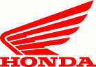 Honda Wing Decal-Motorcycle window Graphic