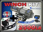 2500 lb KFI Winch, Mount and Grill Combo - NEW Polaris Sportsman ACE 2014