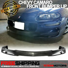 Fits 98 02 Chevy Camaro Poly Front Bumper Lip Spoiler PU V Style