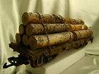 5 G Scale Logging Car custom handcrafted weathered realistic look lot B6