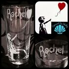 BANKSY Wall Art Print Glass BALLOON GIRL Unique Personalised Gift For Him Her