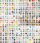 Lots 306pcs HQ Home Button Sticker Decal For APPLE IPHONE 4 4S 5 Many For choose
