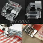 Adjustable Snap On Bias Tape Binding Foot For Brother Janome Sewing Machine