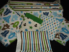 DwellStudio Baby Boy Target Space Rocket Crib Bedding Bumper Skirt Sheet Blanket