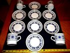 12 Biltons Staffordshire Stackable China Coffee Tea Set Cup Saucer Plate Dish