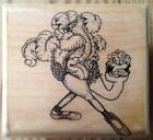 Mostly Animals Pre Madonna 445 S6 Ostrich Rubber Stamp