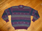 Robert Banks 100% Merino Wool Medium Wt Sweater / Men's Large / BEAUTIFUL!