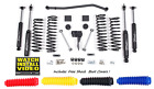 Jeep Wrangler JKU 4 Full Suspension Lift Kit Zone Offroad J15 4 Door Unlimited